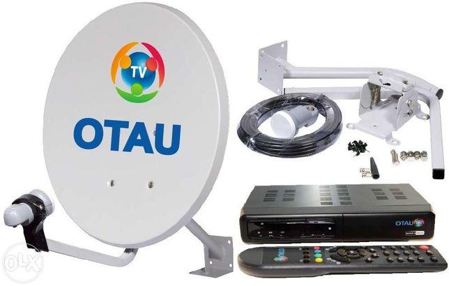 Отау ТВ комплект оборудования c антенной 0,9