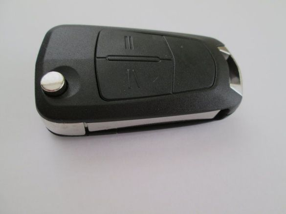 Автоключ с 2 бутона за Opel (Astra H/Zafira B) комплект (433 MHz)!