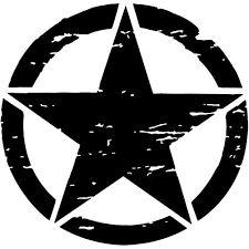 Стикери звезда ARMY