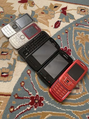 Телефоны кнопочные нерабочие рабочие