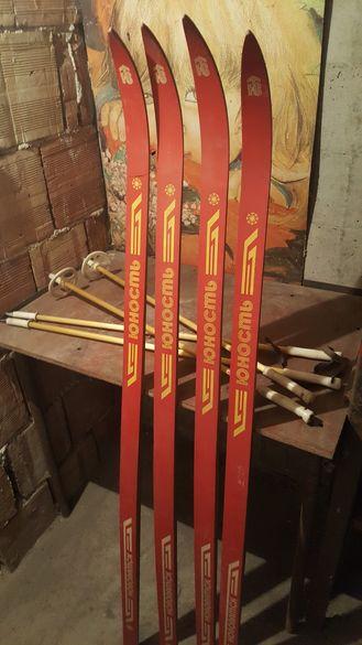 Дървени руски ретро ски