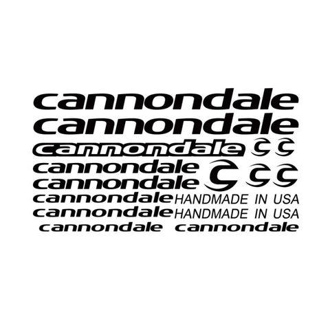 Set Stickere profesionale cadru bicicleta Cannondale MTB/Cursiera