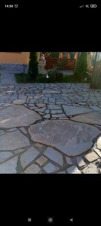 Vând și montez piatră naturală decorativă