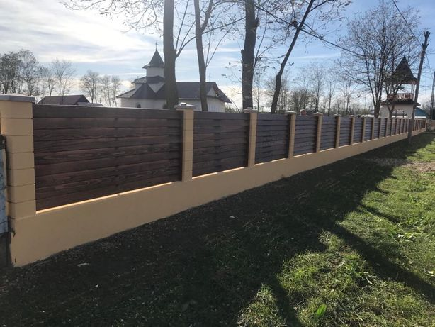 Gard lemn masiv 200/90