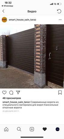 Автоматика для ворот, ворота с автоматикой, пультовые ворота
