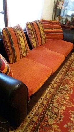 canapea imitație piele