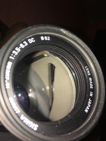 Продам обьектив 18 на 200 и фотоаппарат