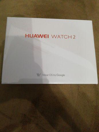 Smartwatch Huawei Watch 2 W2 carbon black strap NOU