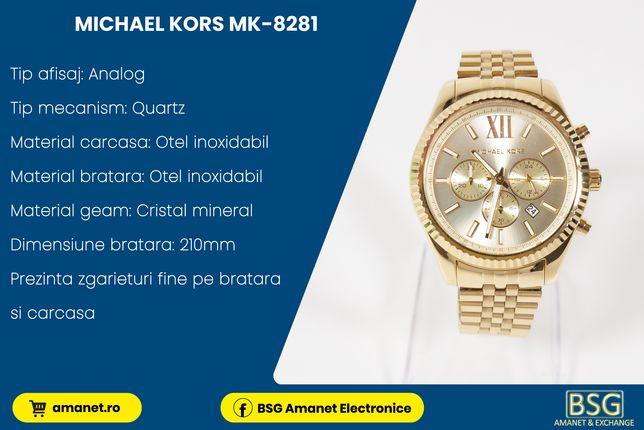 Ceas Michael kors MK-8281 - BSG Amanet & Exchange