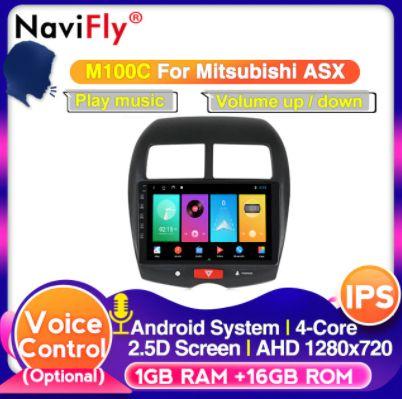 Navigatie Mitsubishi ASX,Citroen C4, Peugeot 4008 Android+camera