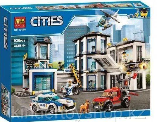 Конструктор аналог лего Lego City 60141 Полицейский участок 936 дет