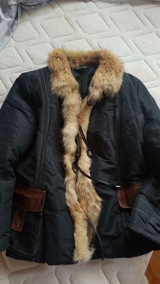 Дамска грейка естествен косъм от лисица