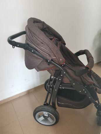 Adbor - Бебешка комбинирана количка Marsel Len 3 в 1
