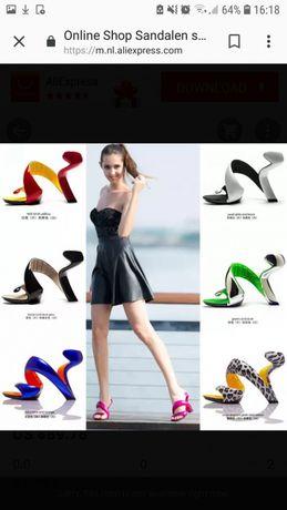 Уникални, екстравагантни сандали
