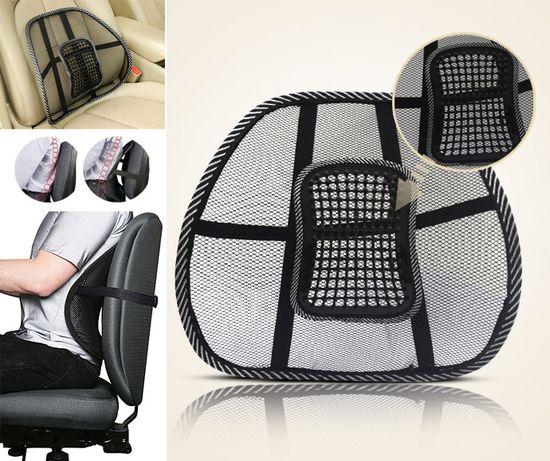Анатомична подложка за гръб-облегалка при шофиране и работа