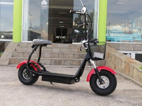 Детски ЕЛЕКТРИЧЕСКИ Скутер Maxmotors Little City Harley 1200W