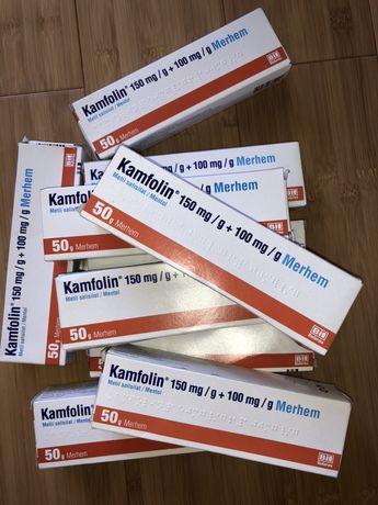 Kamfolin Merhem cremă antiinflamatoare pentru dureri musculare, osoase