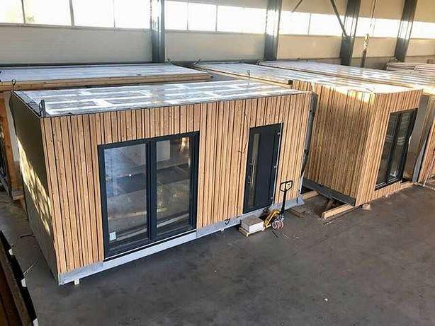 Строительство модульных домиков для зон отдыха