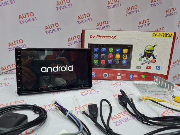 Магнитола на Андроиде/Android. Pioneeir. Версия 10. 5D. Магнитафон