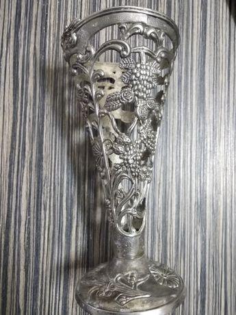 ваза посребрена