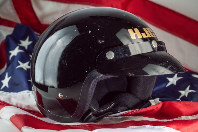 Casca moto open-face HJC