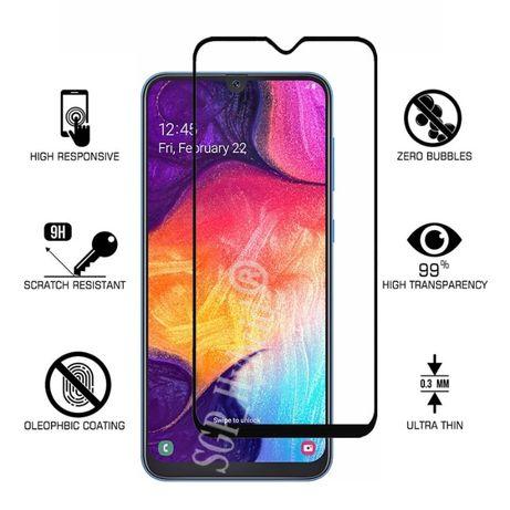 Samsung A10 A20E A30s A40 A50 A70 - Husa Silicon + Folie Sticla 11D