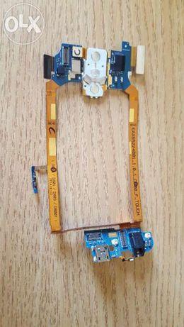 Banda Flex Cu Conector Incarcare Si Jack Audio LG G2 D800 Originala
