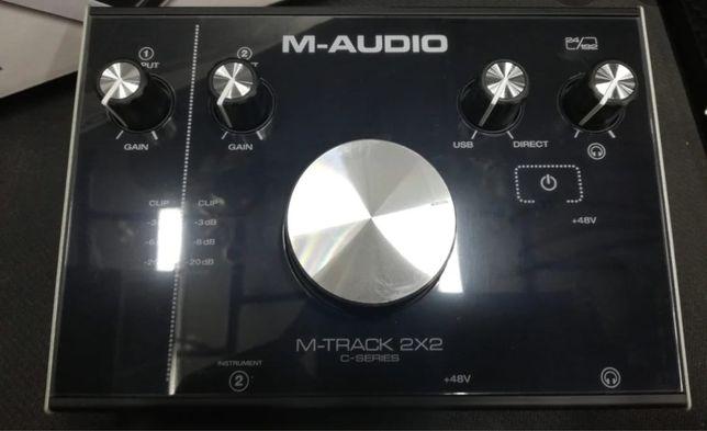 M audio звуковая карта