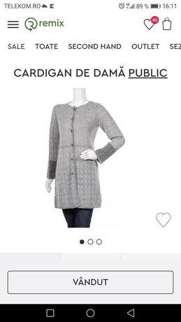 Cardigan gri pentru femei