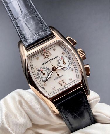 Швейцарские золотые часы Girard-Perregaux