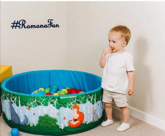 Бассейн сухой для детей