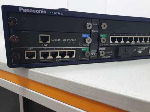 Centrala telefonica Hibrid IP Panasonic KX-NCP500