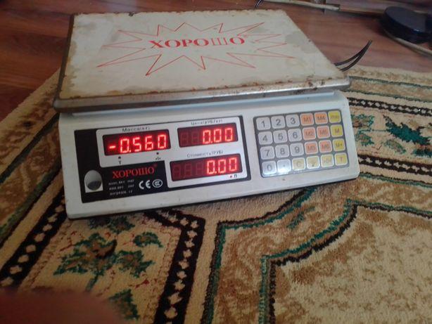 Электронные весы, товарные