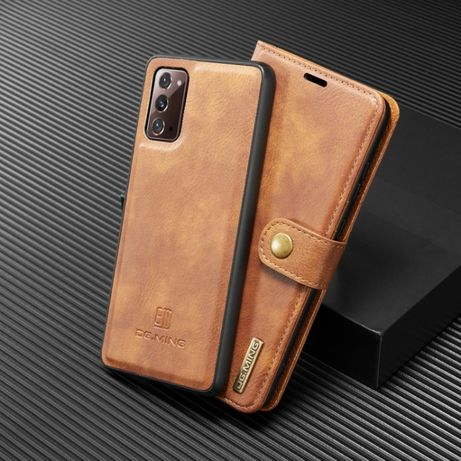 Husa Samsung Note 20, piele 2in1, protectie superioara, CaseMe