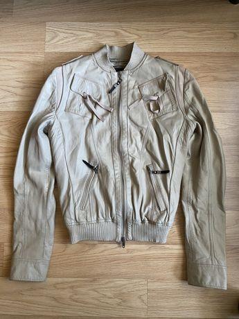 Кожаная куртка ,италия ,натуральная кожа