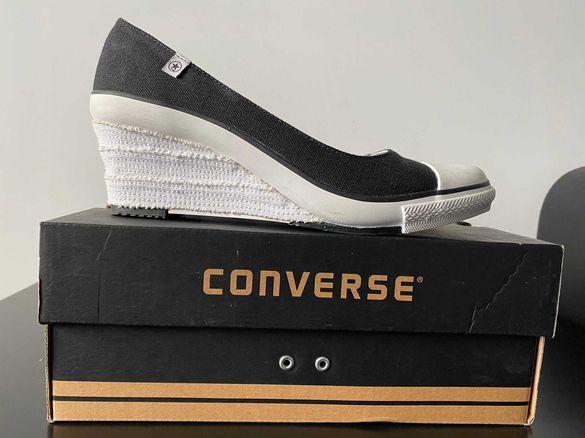Чисто нови дамски кецове (гуменки) на платформа Converse Wedge Wrap