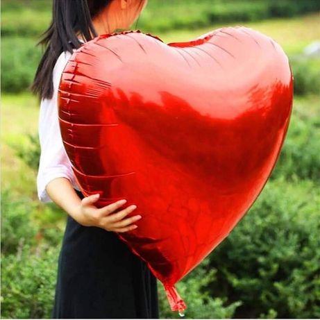 Фолиеви балони ОГРОМНО Сърце и LOVE