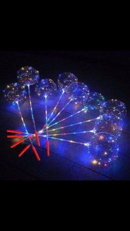 Светящиеся шары, Светодиодные шары! Оптом, +Носос в подарок