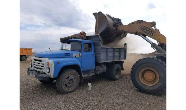 Доставка отсев щебень Песок сникерс пгс вывоз мусора навоз перегной