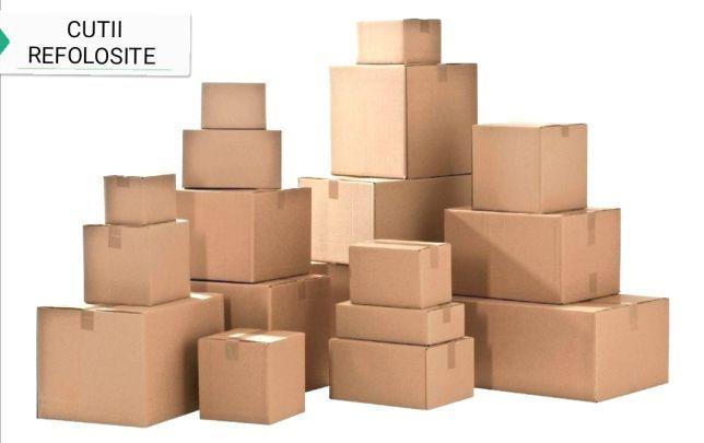 Cutii carton refolosite