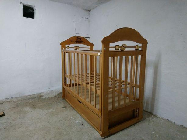 Продам Детскую Кроватку Кошка 4 Маятник, Ящик, (Доставка  Бесплатно)