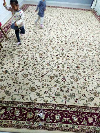 Продам  шерстяной толстый иранский ковёр  Б-у размер 4×6