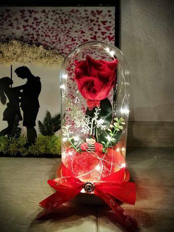 Cupole trandafiri flori criogenate un cadou unic și special