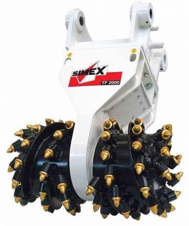 Роторная фреза Simex TF2100 (Италия) для экскаваторов от 28-45 тонн.