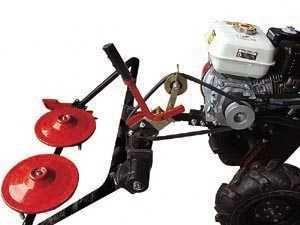 Cositoare rotativa universala (2 discuri rotative) pentru motocultor