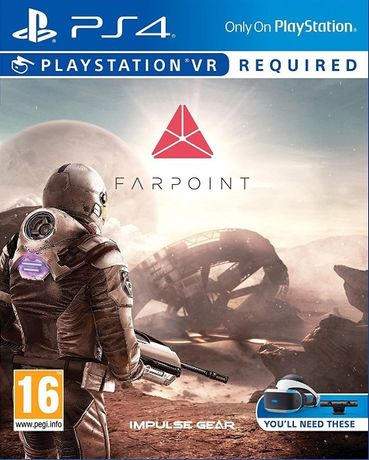 Farpoint / PS4 / Игра / Нова / Playstation 4 / TV