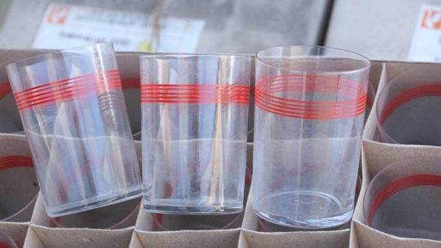 Советские стаканы для подстаканников СССР