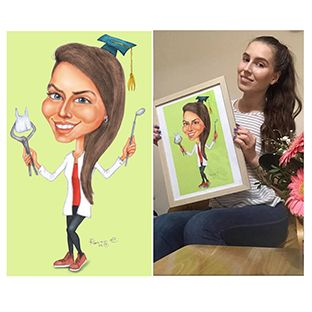 Portrete tip caricatura
