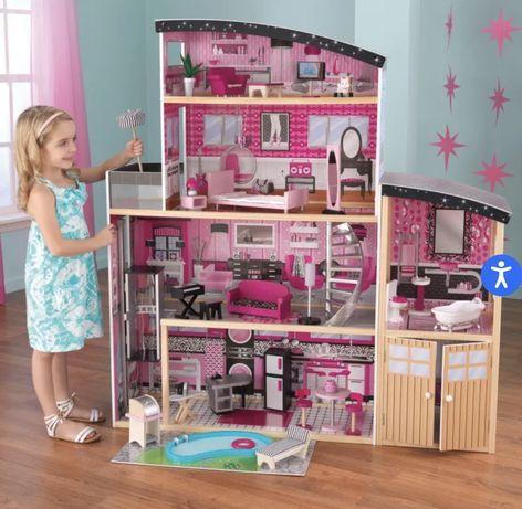 Большой кукольный дом (4 этажа)