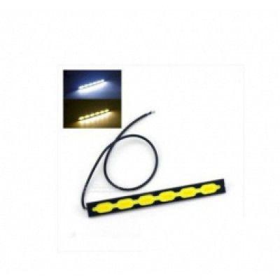 Комплект led диодни дневни светлини amio с функция мигач сов 6